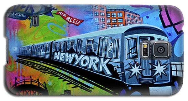 New York Train Galaxy S5 Case