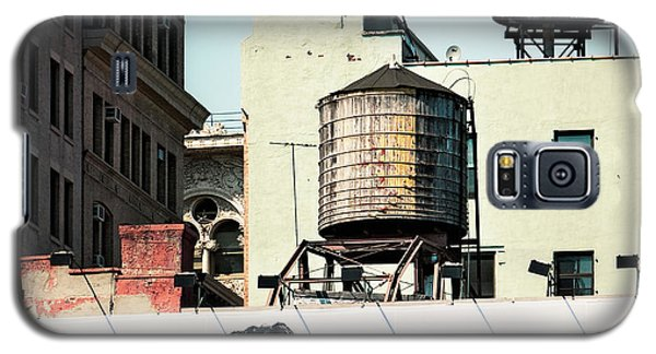 New York Water Towers 15 Galaxy S5 Case