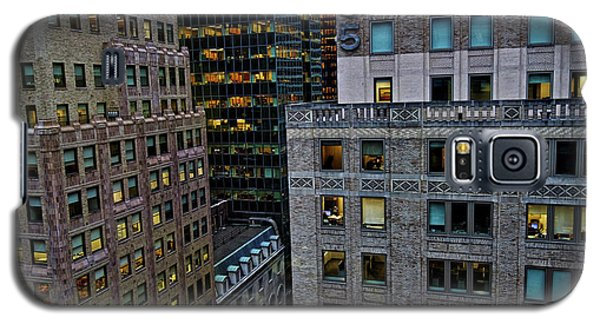 New York Windows Galaxy S5 Case