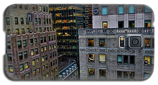 New York Windows Galaxy S5 Case