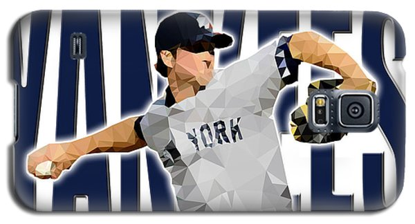 Galaxy S5 Case featuring the digital art New York Yankees by Stephen Younts