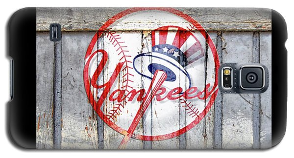 New York Yankees Top Hat Rustic 2 Galaxy S5 Case