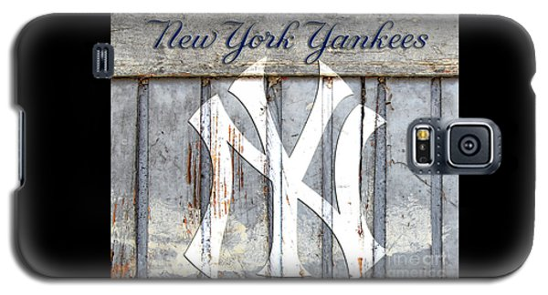 New York Yankees Rustic Galaxy S5 Case