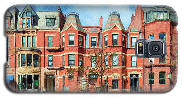 Newbury Street In Boston Galaxy S5 Case