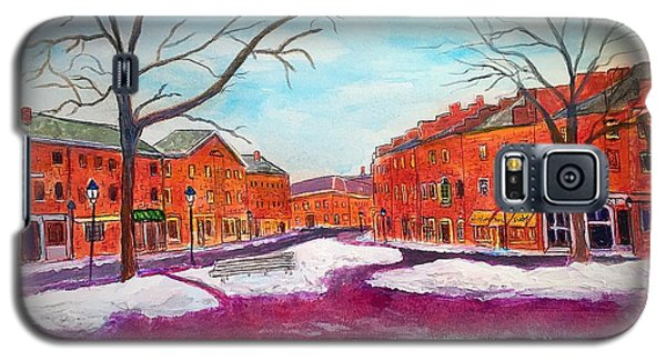 Newburyport Ma In Winter Galaxy S5 Case