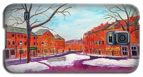 Newburyport Ma In Winter Galaxy S5 Case