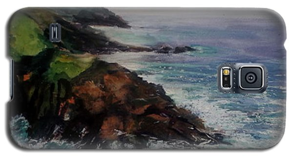 Newlyn Cliffs 2 Galaxy S5 Case