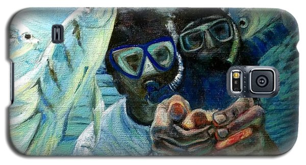 Honeymoon Selfie Galaxy S5 Case