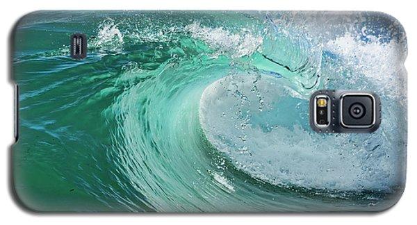 Newport Beach Wave Curl Galaxy S5 Case
