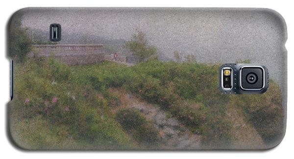 Newport Cliff Walk In The Fog Galaxy S5 Case