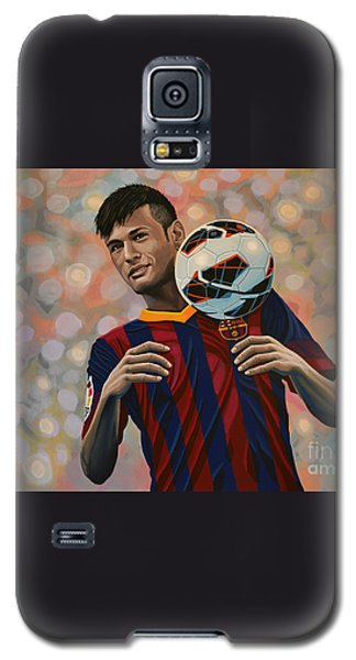 Neymar Galaxy S5 Case by Paul Meijering