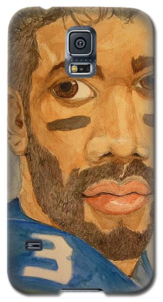 New School Football Seattle Galaxy S5 Case by Rand Swift