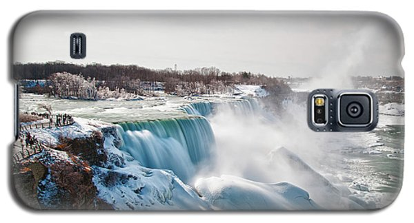 Galaxy S5 Case featuring the photograph Niagara Falls 4589 by Guy Whiteley