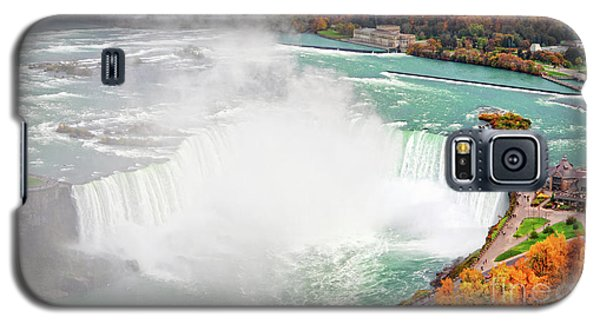 Niagara Falls Autumn Galaxy S5 Case by Charline Xia