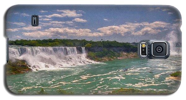 Fall In Niagara Falls Galaxy S5 Case