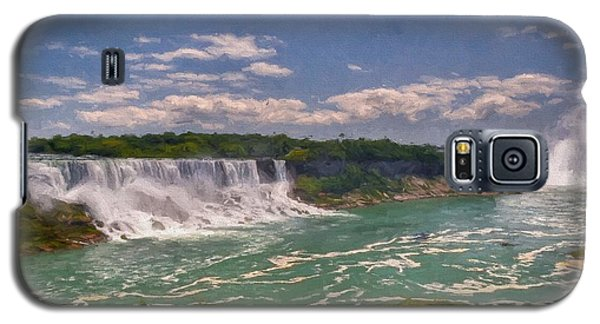 Fall In Niagara Falls Galaxy S5 Case