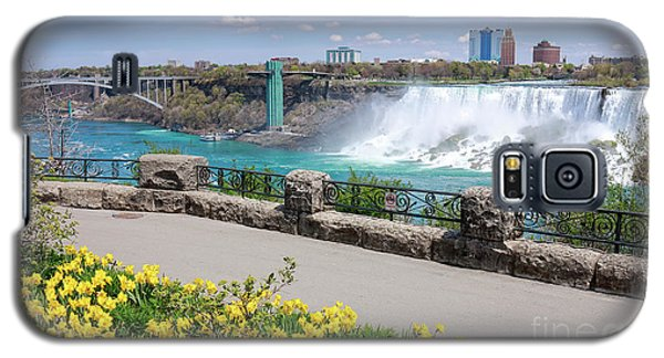 Niagara Falls Spring Time Galaxy S5 Case by Charline Xia