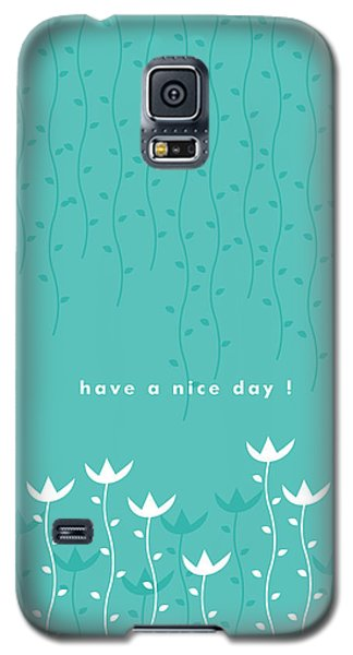 Card Galaxy S5 Case - Nice Day by Kathleen Wong