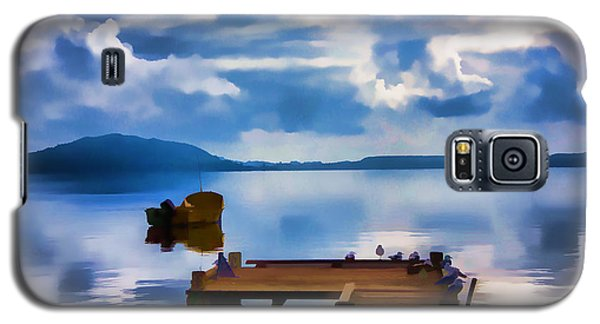 Galaxy S5 Case featuring the photograph Nice Dock by Rick Bragan