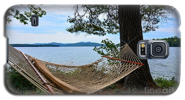 Nice Spot For A Nap Galaxy S5 Case by Mim White