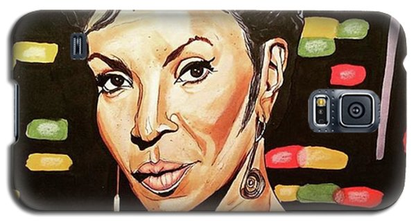 Galaxy S5 Case - Uhura  by Russell Boyle