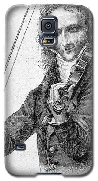Violin Galaxy S5 Case - Nicolo Paganini by Granger