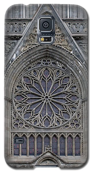 Nidaros Cathedral Stone Ornaments Galaxy S5 Case