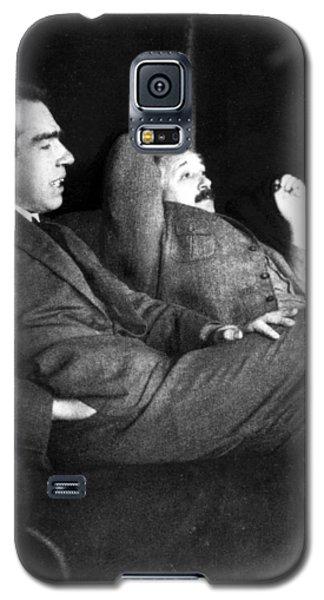Niels Bohr And Albert Einstein Galaxy S5 Case