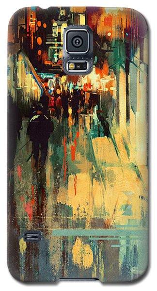 Night Alleyway Galaxy S5 Case