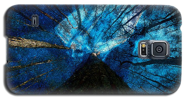 Galaxy S5 Case featuring the painting Night Angel by David Lee Thompson