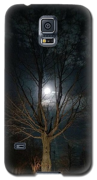 Night At The Graveyard Galaxy S5 Case