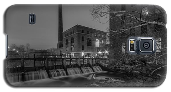 Night At The River 2 In Black And White Galaxy S5 Case