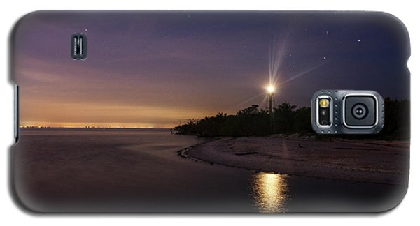Night At The Sanibel Lighthouse Galaxy S5 Case