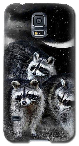 Night Bandits Galaxy S5 Case by Carol Cavalaris