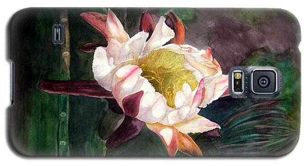 Night Blooming Cereus Galaxy S5 Case by Sharon Mick