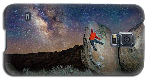 Night Bouldering Galaxy S5 Case by Evgeny Vasenev
