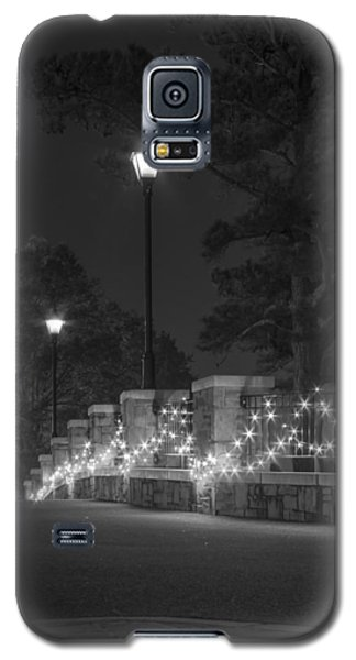 Night Bridge In December Galaxy S5 Case