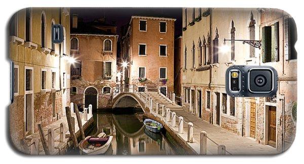 Night Bridge Galaxy S5 Case by Marco Missiaja