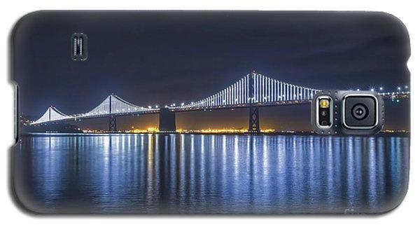 Night Bridge Galaxy S5 Case by Mitch Shindelbower