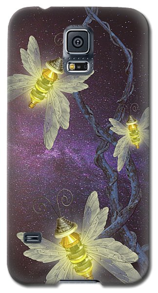 Night Butterflies Galaxy S5 Case