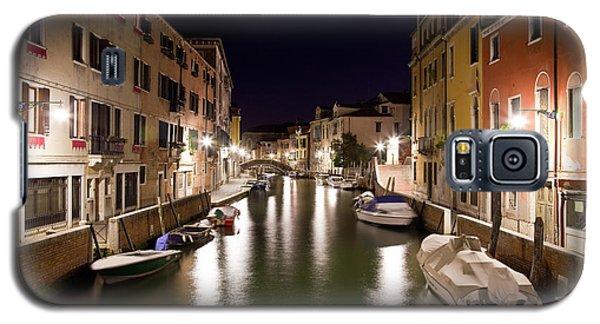 Night Canal Galaxy S5 Case by Marco Missiaja