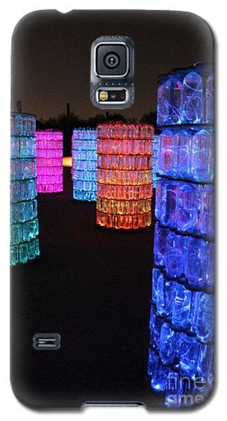 Night Color Galaxy S5 Case by Natalie Ortiz