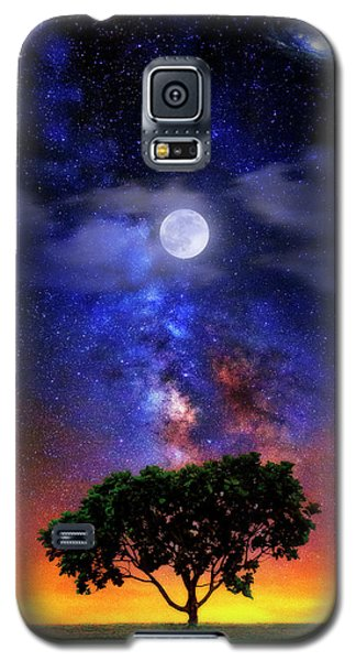 Night Colors Galaxy S5 Case by Justin Kelefas