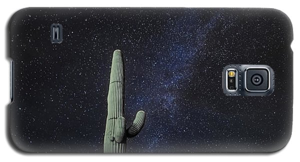 Night Desert Skies Galaxy S5 Case