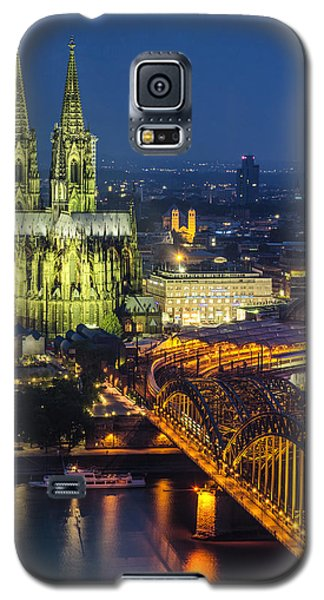 Night Falls Upon Cologne 1 Galaxy S5 Case