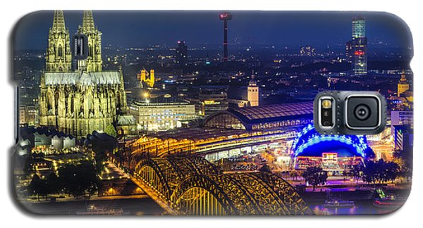 Night Falls Upon Cologne 2 Galaxy S5 Case
