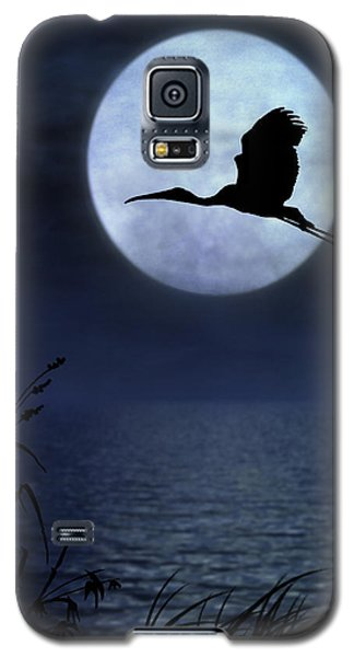 Galaxy S5 Case featuring the photograph Night Flight by Christina Lihani