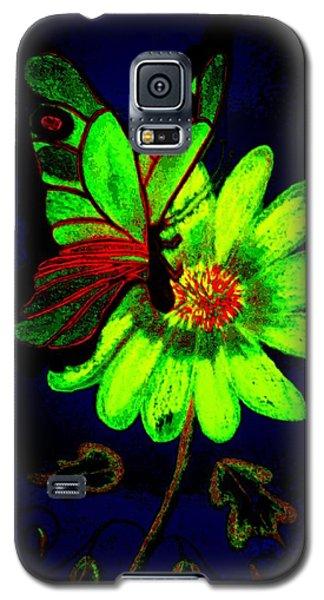 Night Glow Galaxy S5 Case by Maria Urso