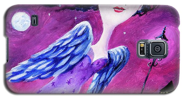 Galaxy S5 Case featuring the painting Night In The City by Igor Postash