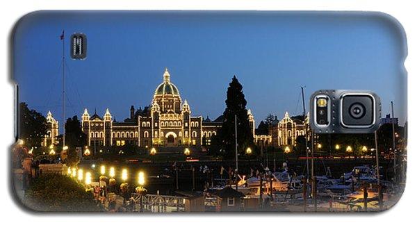 Night Lights On Victoria Harbor Galaxy S5 Case